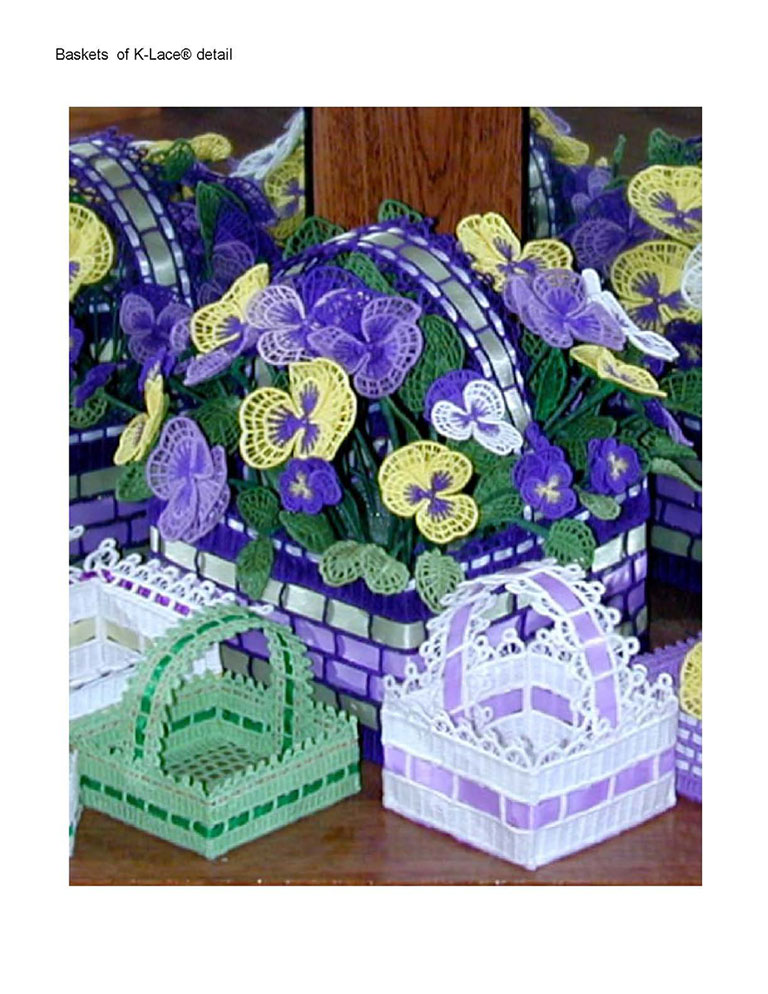 Machine embroidery designs k lace™ freestanding flowers