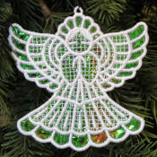 Mylar Angel Ornament
