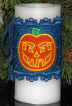 Freestanding Lace Halloween Candle Wrap