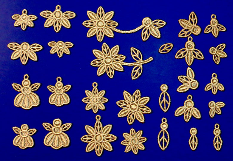 Machine Embroidery Designs K-Laceu2122 Jewelry