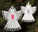 Awareness Support Ribbon Angels