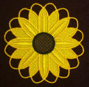 FSL Summer Sunflower Coaster Motif
