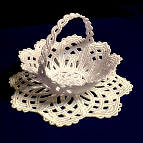 Machine Embroidery Designs K Lace Bowls And Doilies
