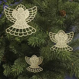 Angel Ornaments Freestanding Lace