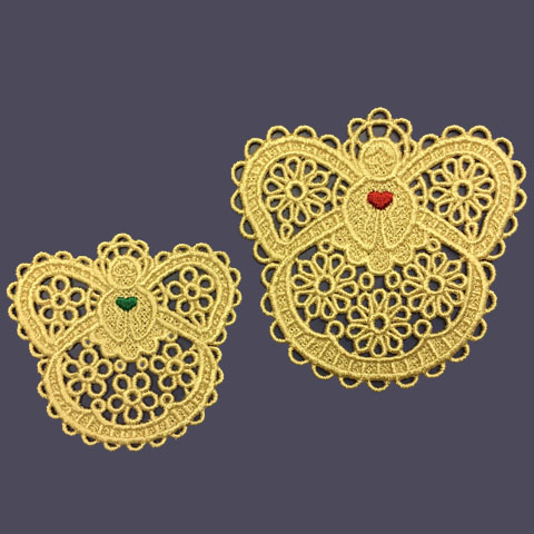 Machine Embroidery Designs K-Lace Bowls and Doilies