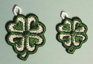 4-leaf clover charms
