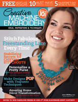 Jan/Feb issue Creative Machine Embroidery