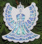 Mylar® Angel Ornament with K-Lace
