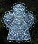 Mylar� Angel Ornament with K-Lace
