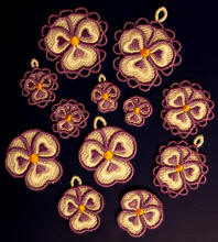 Pansy Charms