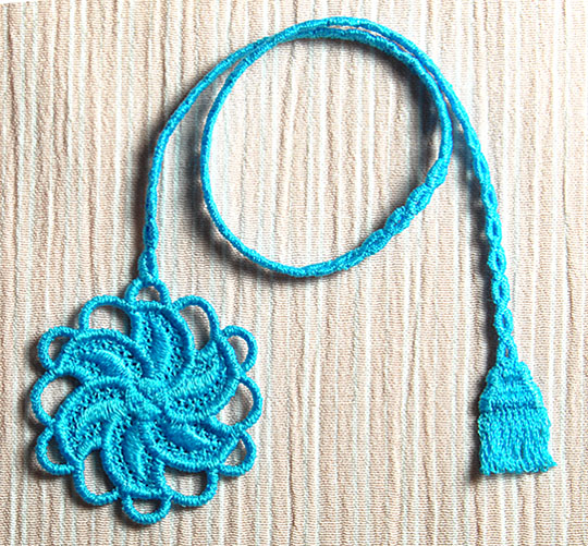 Machine Embroidery Designs K-Lace Bookmarks