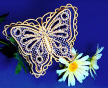 3D All-in-Hoop Butterfly