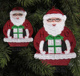 Santa Claus ornament fsl
