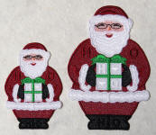 Santa Claus Ornament Freestanding Lace