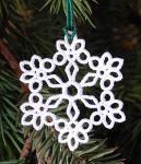 free lace snowflake