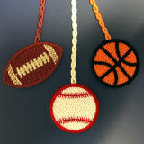 Sports Balls Bookmarks