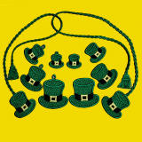 St. Patrick's Day Hats Bookmarks and Charms