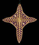 lace cross bookmark